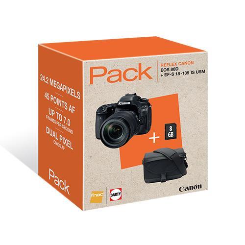 Camara reflex Canon EOS 80D 18 135 mm