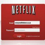 Email de Netflix fraudulento