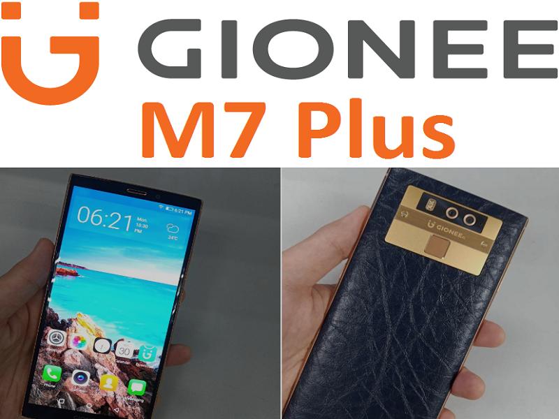 Gionee M7 Plus