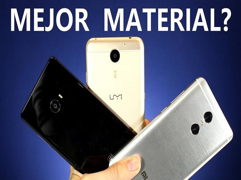 Materiales para smartphones