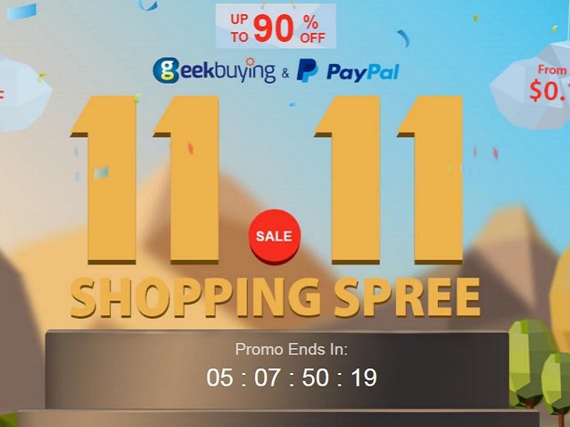 Promo Geekbuying 11.11