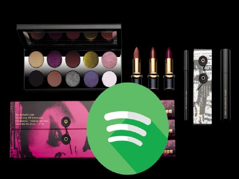 Spotify venderá cosméticos