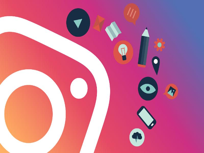 boton Regram de Instagram