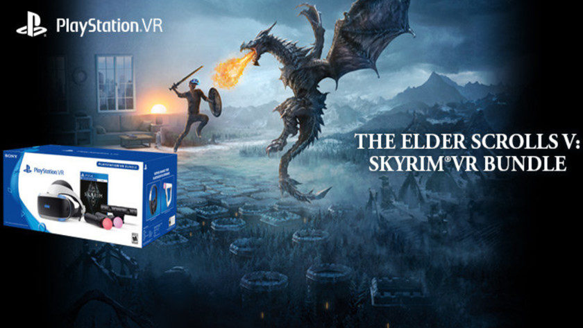 pack play station VR skyrim