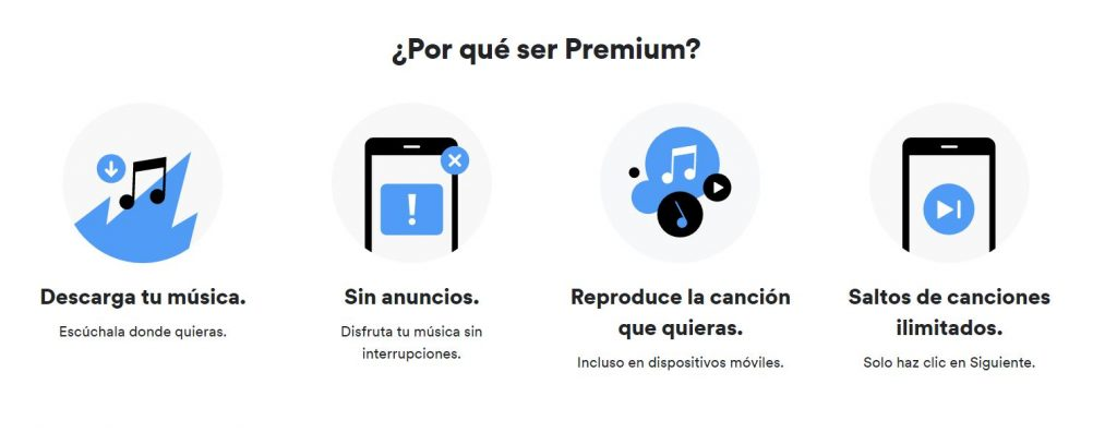 ventajas de spotify premium