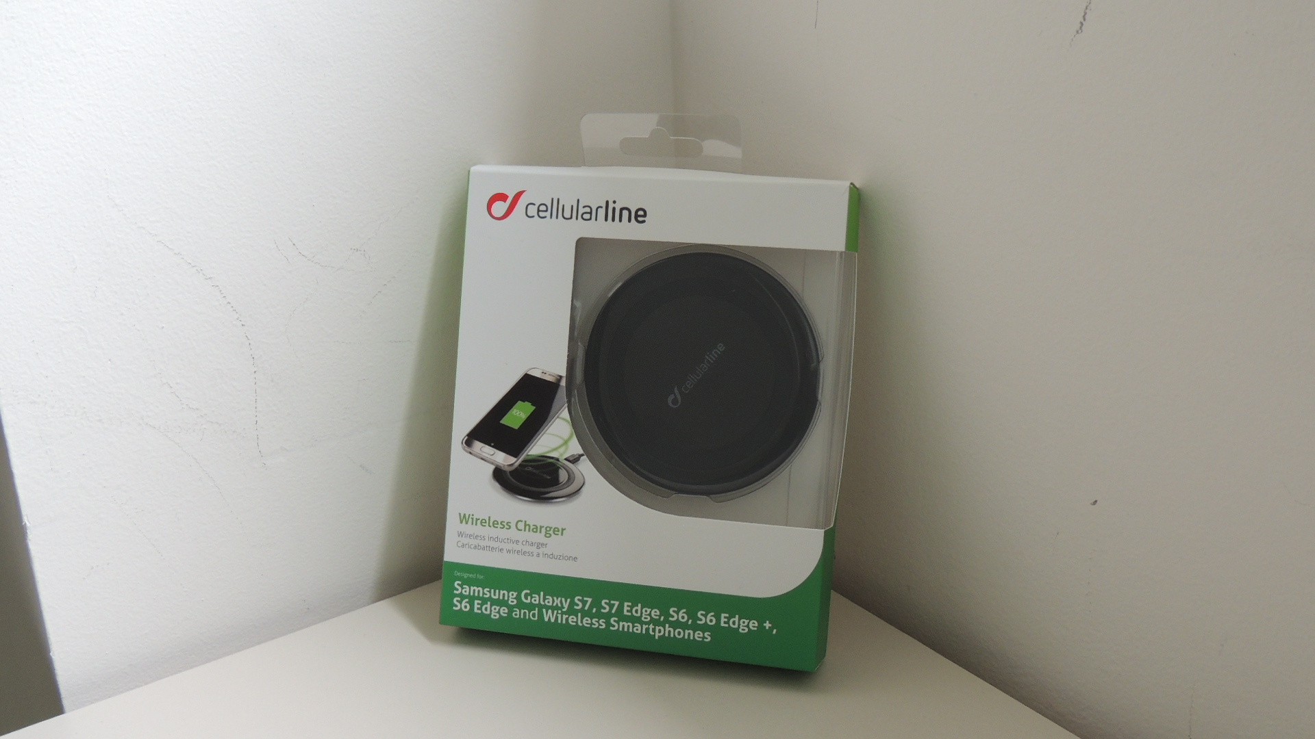 cellularline wireless charger