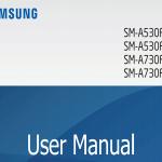 Manual del Galaxy A8