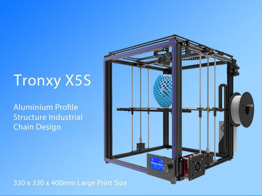 Tronxy X5S, aspecto