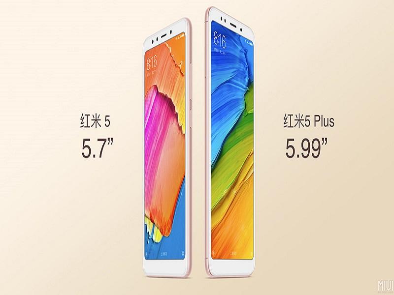 Xiaomi Redmi 5 y Xiaomi Redmi 5 Plus