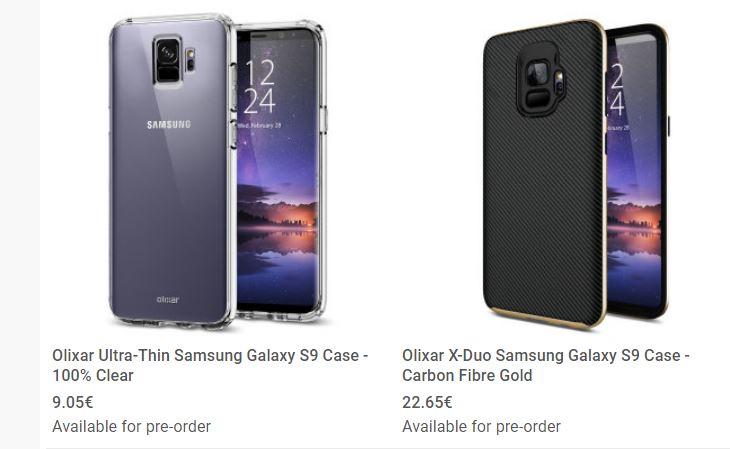 fundas samsung galaxy s9