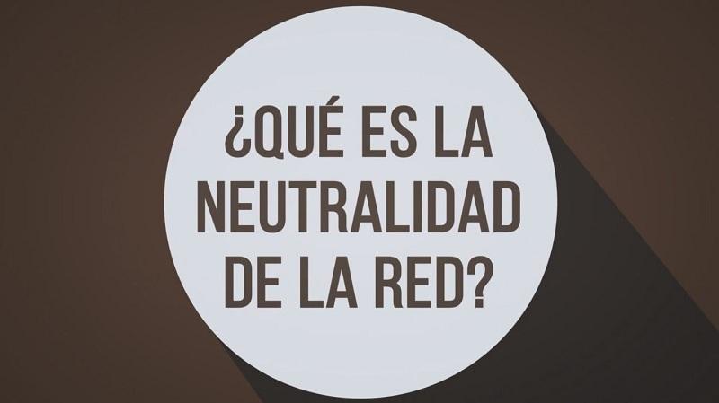 la neutralidad de la red