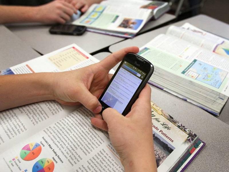 uso de móviles