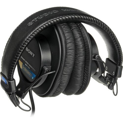 Sony MDR-7506 se pueden doblar para guardarlos