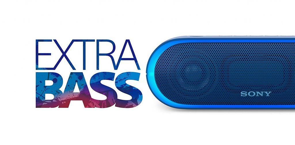 Sony SRS-XB20, extra bass