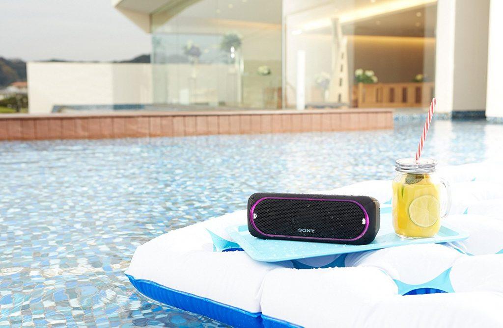 Sony SRS-XB30, resistente al agua