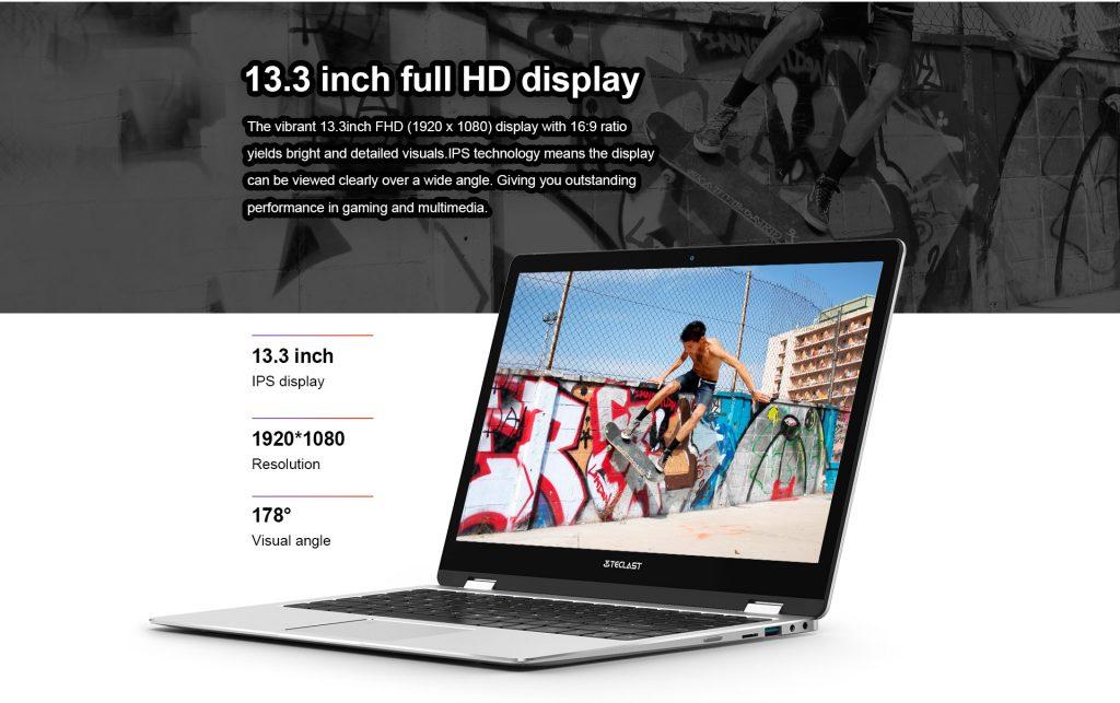 Teclast F6 Pro, pantalla
