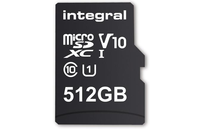 integral microSD de 512GB