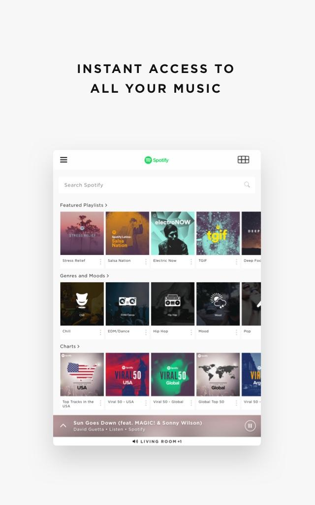 Bose SoundTouch 20, aplicación