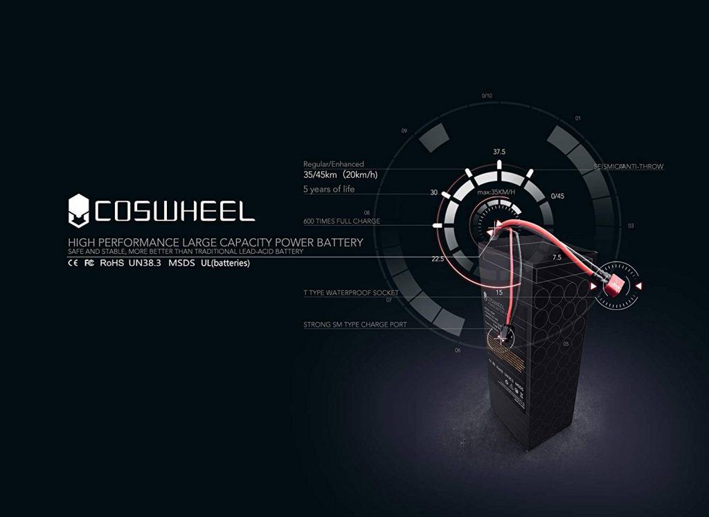 COSWHEEL A - ONE, batería
