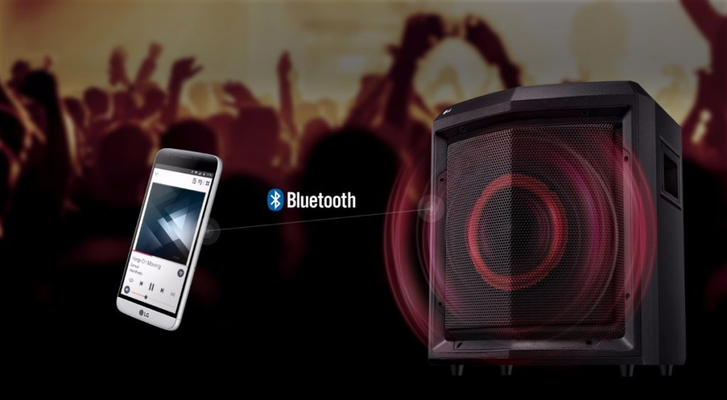 LG FH2, Bluetooth