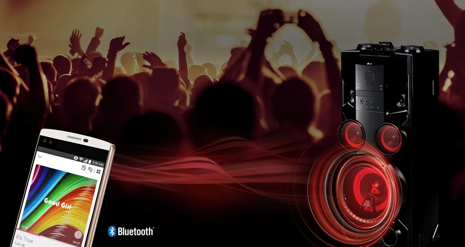 LG OM5560, Bluetooth