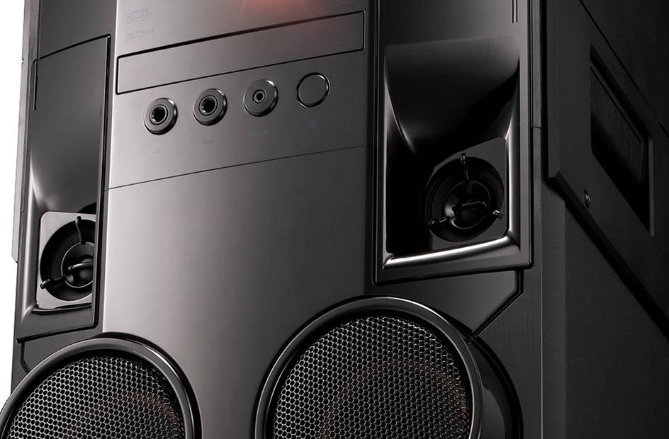 LG OM7560, DJ