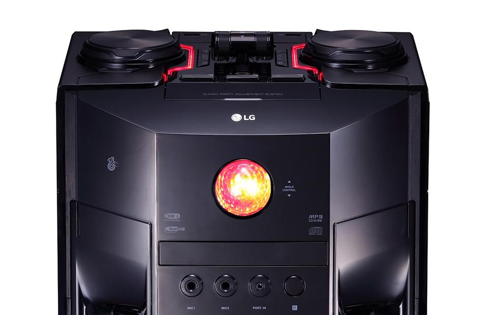 LG OM7560, USB