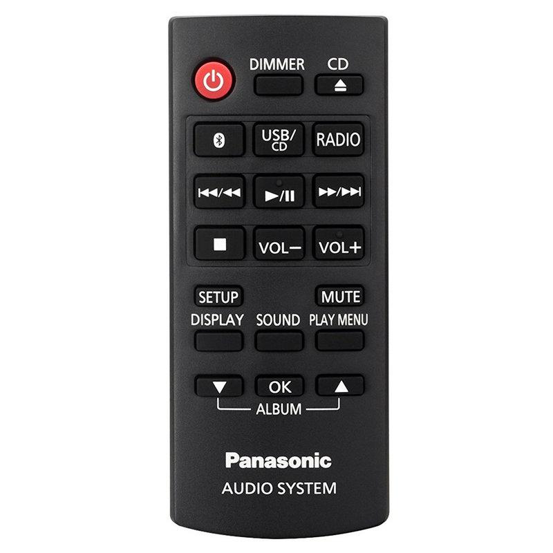 Panasonic SC-PM250, mando a distancia
