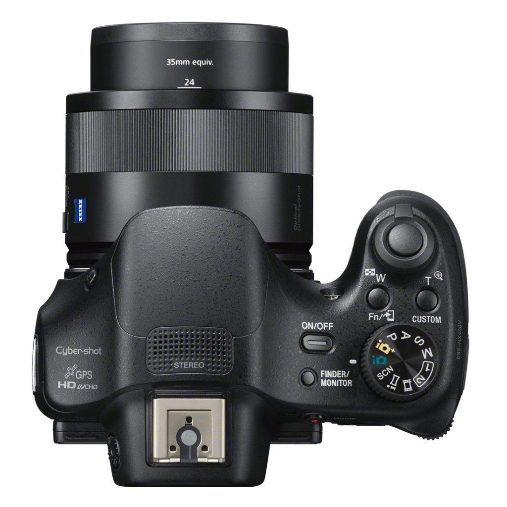 Sony DSC-HX400V, NFC y WiFi