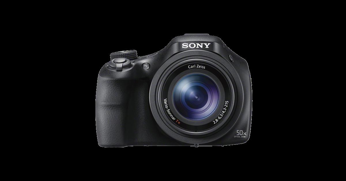 Sony DSC-HX400V, aspecto