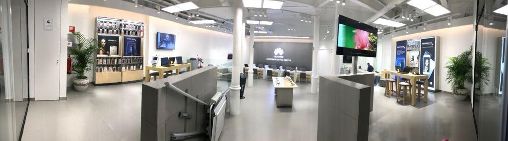 centro de experiencia de huawei