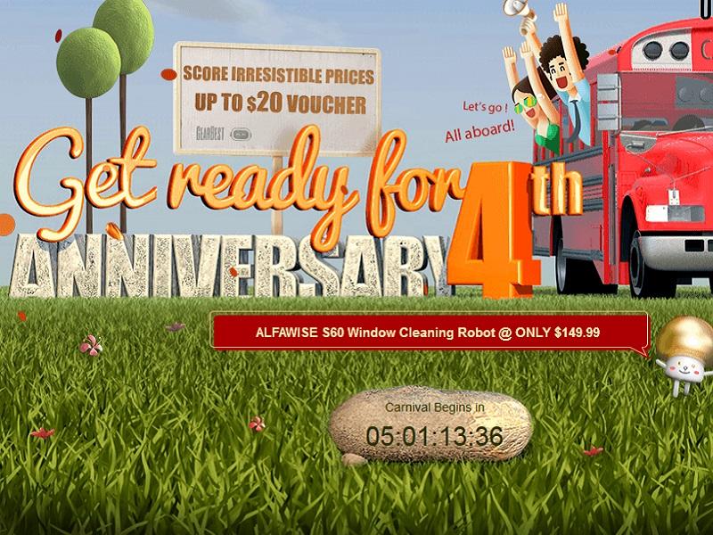 4º Aniversario de Gearbest