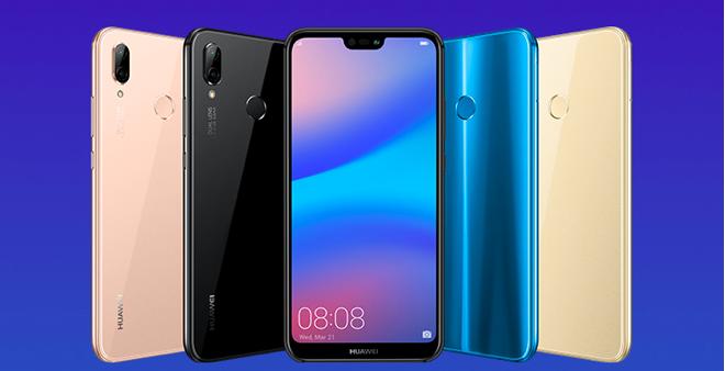 Huawei Nova 3E colores