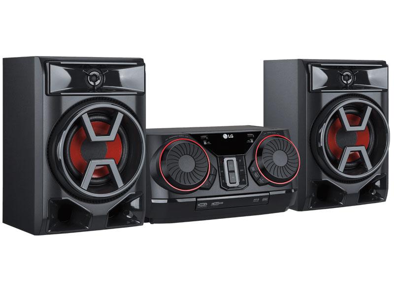 LG CK43, nueva microcadena de 300W con controles de DJ