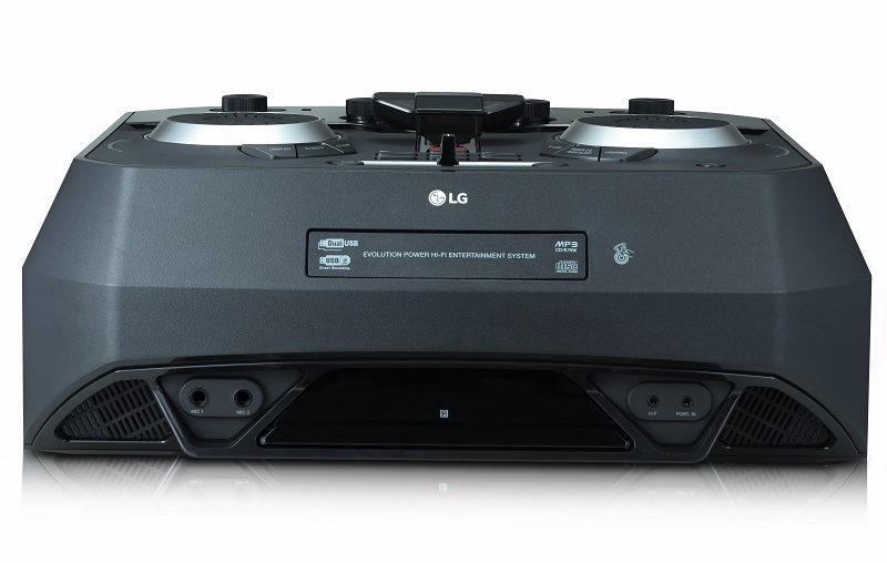 LG CK99, micrófonos