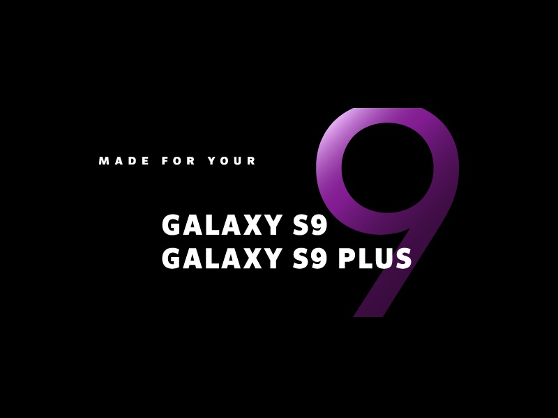 Made for your Galaxy S9