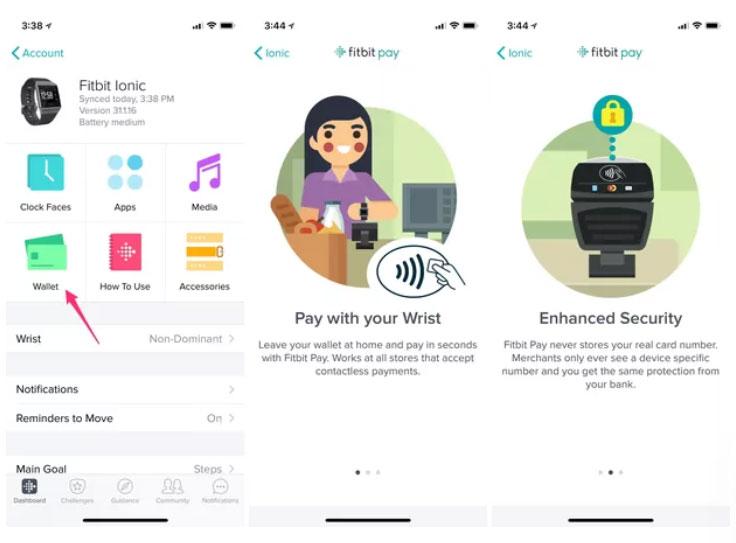 Fitbit pay - app