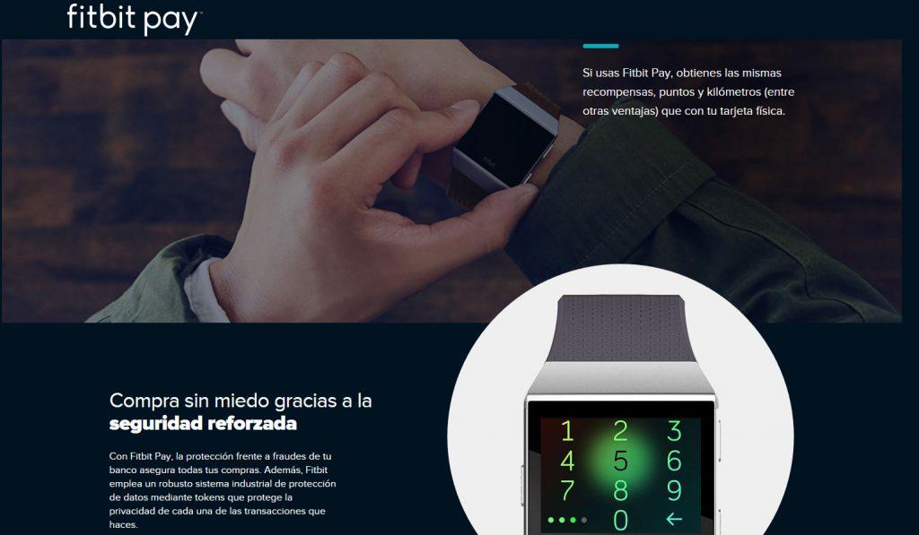 Fitbit pay - seguridad