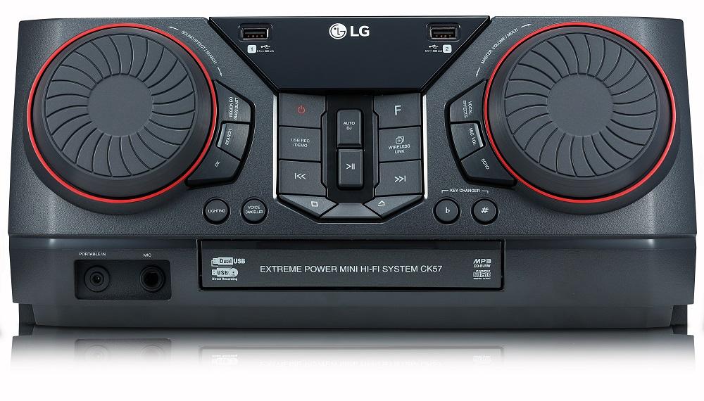 LG CK57, DJ