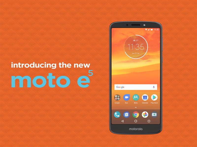 Nuevos Moto E5 - E5 Play - E5 Plus