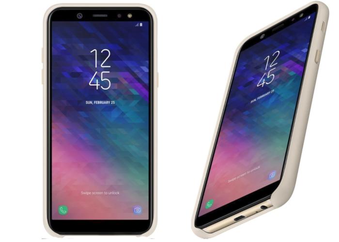Samsung Galaxy A6 y A6+aspecto