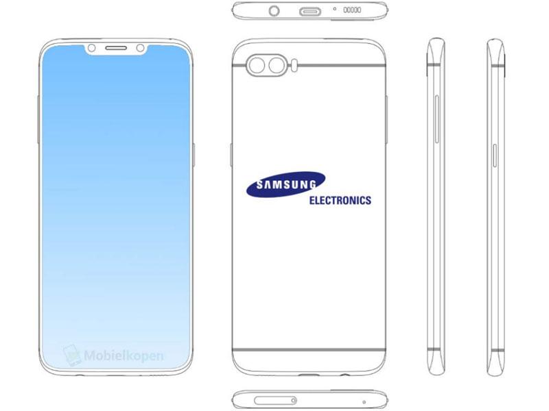 Samsung patente iphone X Notch Apple - Destacada