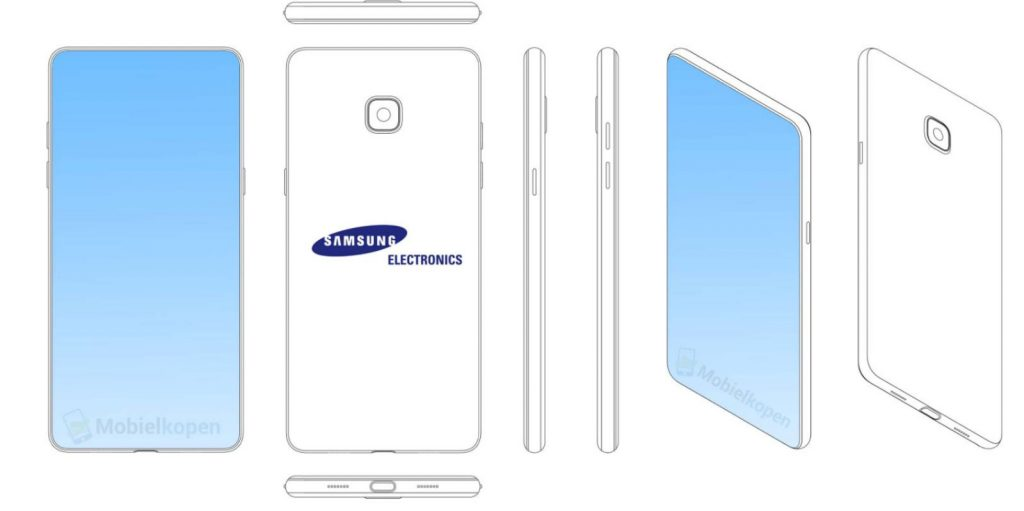 Samsung tiene el diseño del iPhone X en la mira