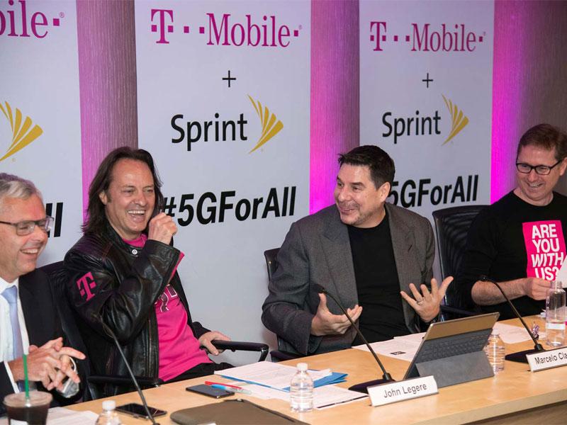 T-Mobile y Sprintsefusionan en una mega-operadora móvil
