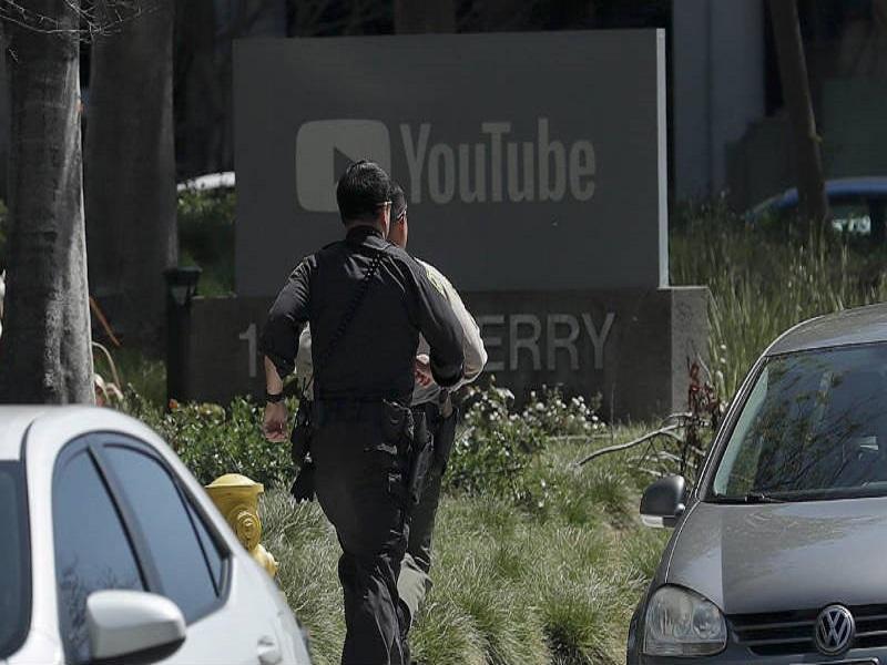 tiroteo en la sede de YouTube