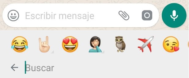 Top emojis Whatsapp