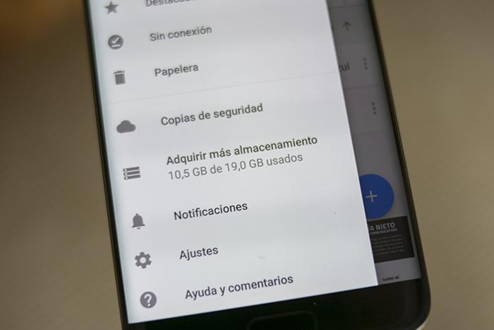 Almacenamiento Google Drive