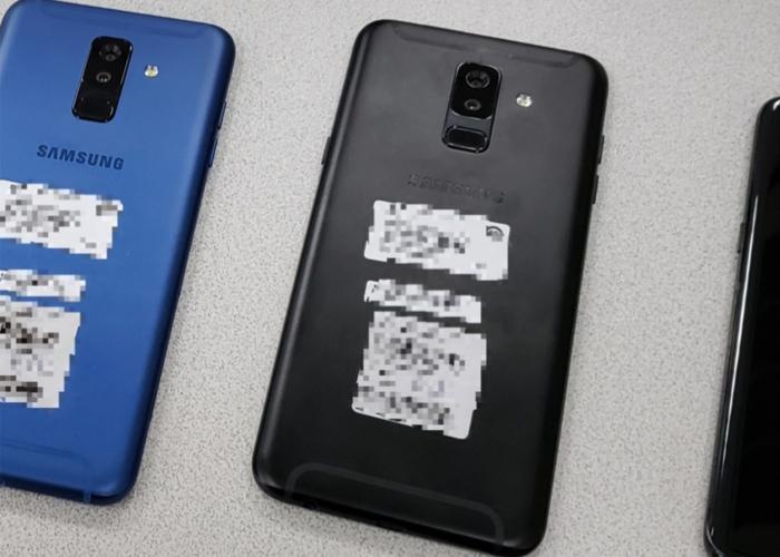 El Samsung Galaxy A9 Star Lite - Cubierta trasera