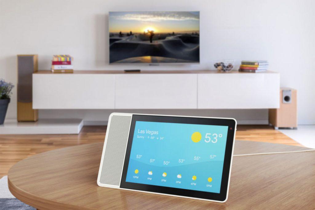 Esta pantalla inteligente de Lenovo con Google Assistant será uno de los primeros dispositivos con Android Things 1.0