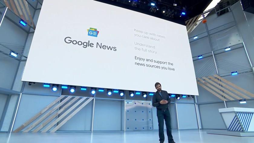 Google I/O 2018 - Google News 1